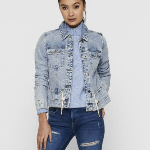 Giubbotto jeans only coulisse in vita   Fandangonet